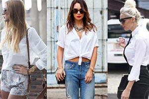 5 τρόποι για να φορέσετε ένα λευκό πουκάμισο