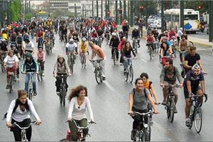 Διεθνής διάκριση για τον σχεδιασμό των ποδηλατοδρόμων της Αθήνας