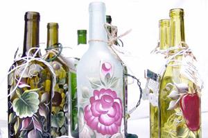 Φτιάξτε διακοσμητικά μπουκάλια