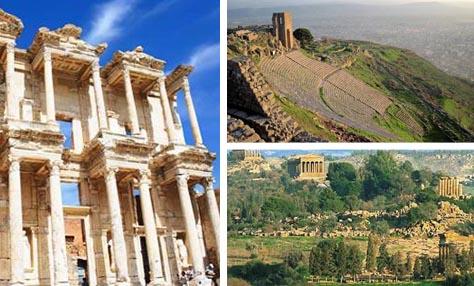 10 αρχαία ελληνικά αξιοθέατα