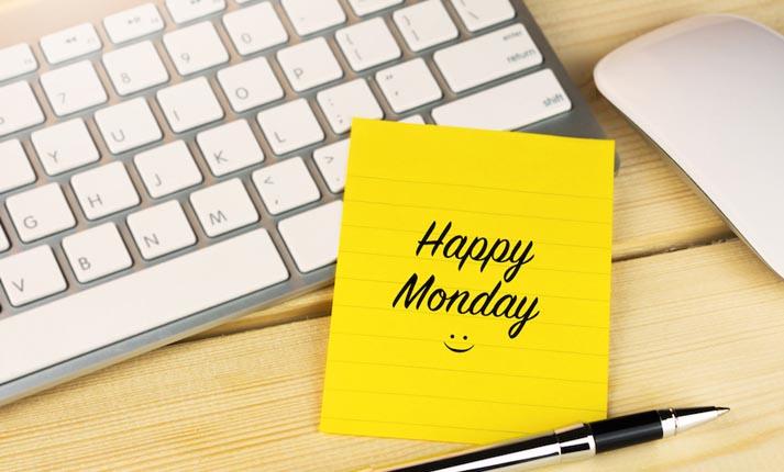 10 τρόποι για να κάνετε τις Δευτέρες σας λιγότερο μουντές