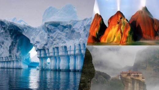 17 θαύματα της φύσης σε όλα τα μήκη της γης