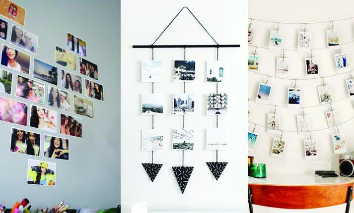 3 DIY για να διακοσμήσετε τους τοίχους του σπιτιού σας με φωτογραφίες