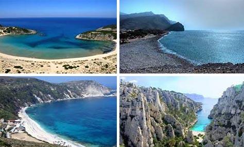 3 Ελληνικές παραλίες στις 15 καλύτερες ευρωπαϊκές για το Μάιο