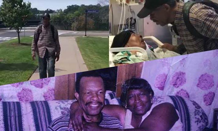 99χρονος διανύει 6 μίλια τη μέρα για να επισκέπτεται τη σύζυγό του στο νοσοκομείο!