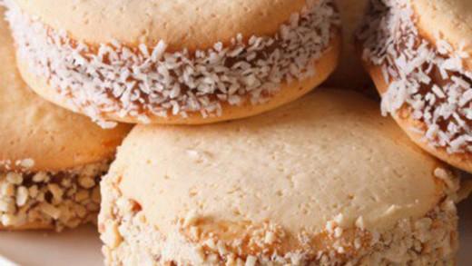 Alfajores ή αλλιώς αργεντίνικο γλυκό σάντουιτς