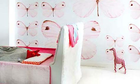 Ανανεώνουμε το παιδικό δωμάτιο με οικολογικά αυτοκόλλητα!