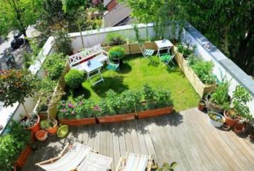 Αναβαθμίστε το ακίνητό σας φτιάχνοντας roof garden