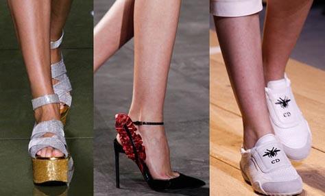 Άνοιξη-Καλοκαίρι 2017: Όλες οι νέες τάσεις στα παπούτσια
