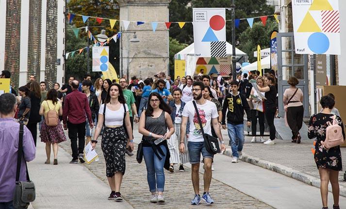 #asf2018: 22.000 επισκέπτες ανακάλυψαν στην Τεχνόπολη την επιστήμη χωρίς σύνορα