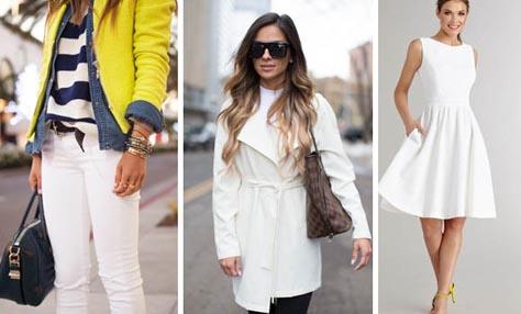 Άσπρη μέρα- Τα έξι top λευκά κομμάτια που πρέπει να αποκτήσετε