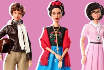 Barbie: Σπουδαίες γυναίκες γίνονται κούκλες και αλλάζουν τα πρότυπα ομορφιάς