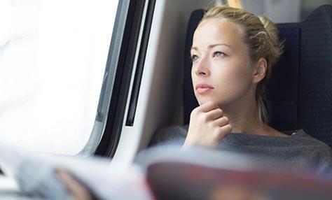 Διαλογισμός στα μέσα μαζικής μεταφοράς
