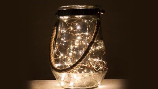DIY φωτιστικά για τη βεράντα