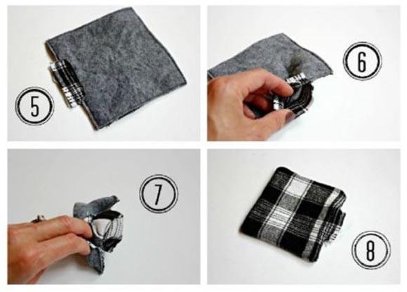 DIY: Φτιάξτε πρωτότυπα σουβέρ από ύφασμα!