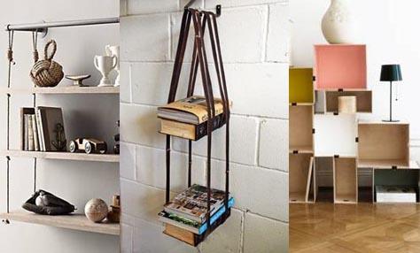 DIY βιβλιοθήκες με στυλ για το σπίτι σας