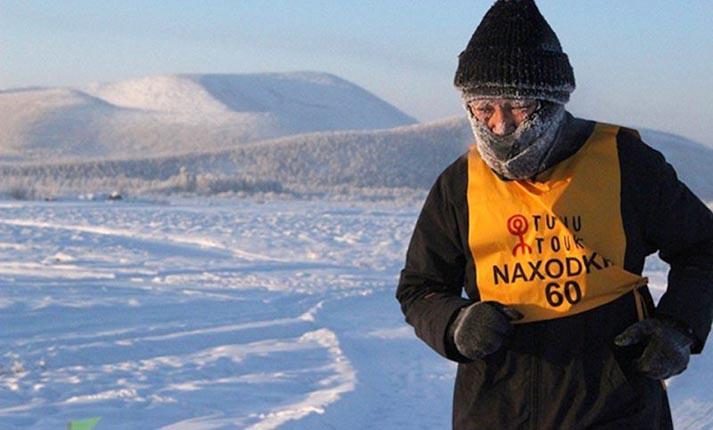 Δρομείς έτρεξαν στον πιο κρύο αγώνα του κόσμου στους -52°C!