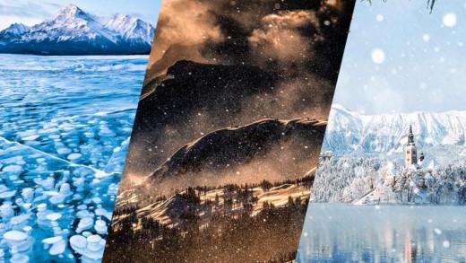 Εκπληκτικές χειμωνιάτικες φωτογραφίες