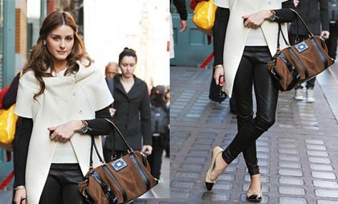 9b6573cbe745 Έξι tips για να φορέσετε ένα δερμάτινο κολάν - παντελόνι - Flowmagazine