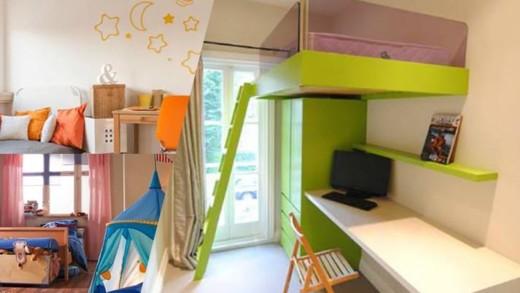 Έξυπνες ιδέες για μεταμόρφωση του παιδικού δωματίου