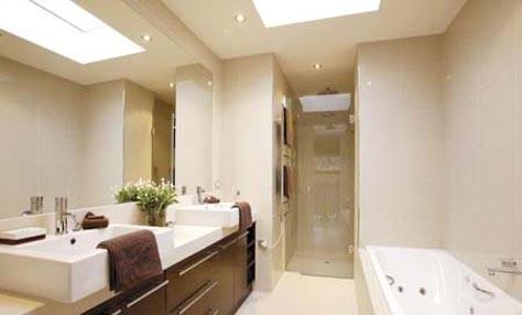 Έξυπνες λύσεις για το φωτισμό του μπάνιου σας