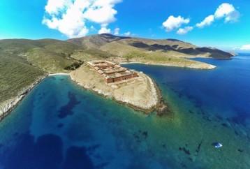 Ένα ακατοίκητο νησί-καταφύγιο άγριας φύσης