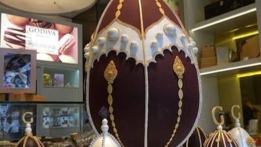 Ένα από τα ακριβότερα σοκολατένια αυγά του κόσμου