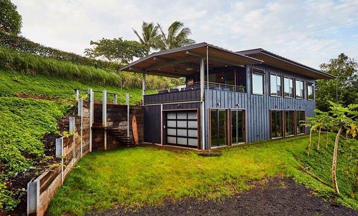Ένα σπίτι που συνδυάζει την έννοια του small living με τη βιωσιμότητα