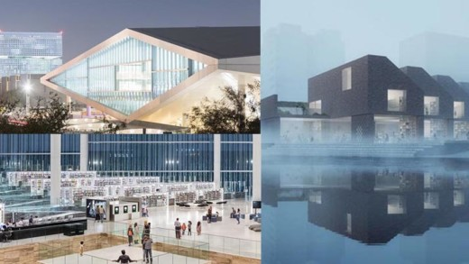 Εντυπωσιακές νέες βιβλιοθήκες στις 4 ηπείρους