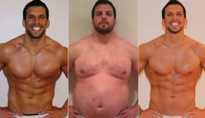 Γυμναστής πήρε και έχασε 40 κιλά μέσα σε ένα χρόνο