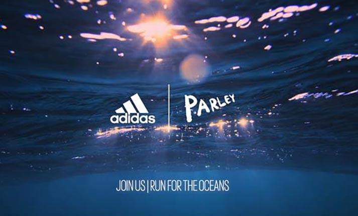 Η adidas μάχεται ενάντια στη ρύπανση των θαλασσών