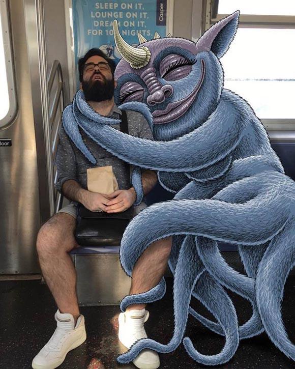 Η ανθρώπινη πλευρά των περίεργων πλασμάτων του Ben Rubin