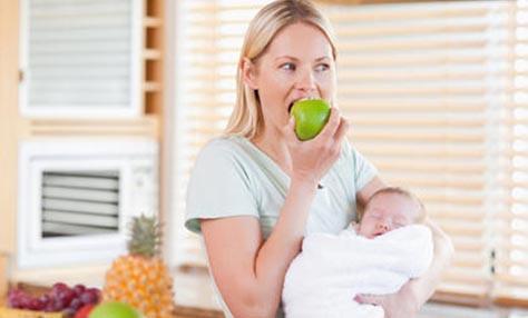 Η διατροφή στη διάρκεια του θηλασμού