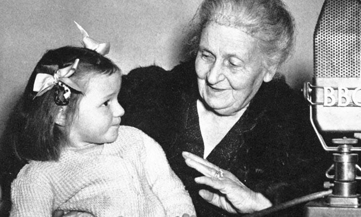 Η φιλοσοφία της Maria Montessori για τη διαπαιδαγώγηση των παιδιών
