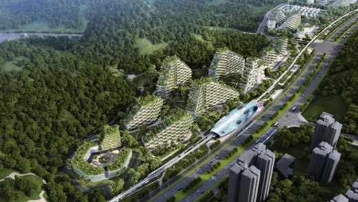 Η πρώτη πόλη-δάσος στην Κίνα