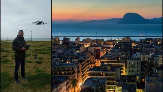 Η πρωτοποριακή καφετέρια στην Πάτρα που κάνει delivery με… drone