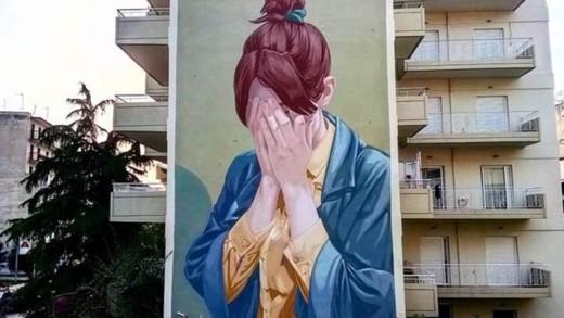 Η τέχνη του Dimitris Taxis στους τοίχους των μεγαλουπόλεων