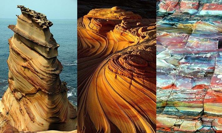 Η υπερβατική δημιουργία των βράχων