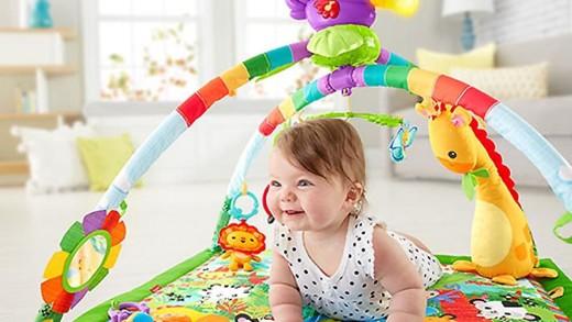 Κατάλληλα παιχνίδια για κάθε βρεφική ηλικία