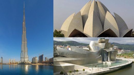 Καταπληκτικά μοντέρνα κτίρια σε όλο τον κόσμο