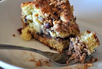Κέικ με φουντούκια και σοκολάτα