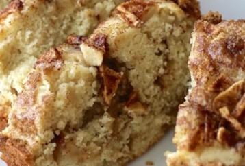 Κέικ με μήλο και κανέλα