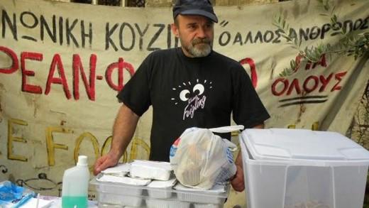 Κωνσταντίνος Πολυχρονόπουλος: «Ο άλλος άνθρωπος» της Κοινωνικής Κουζίνας