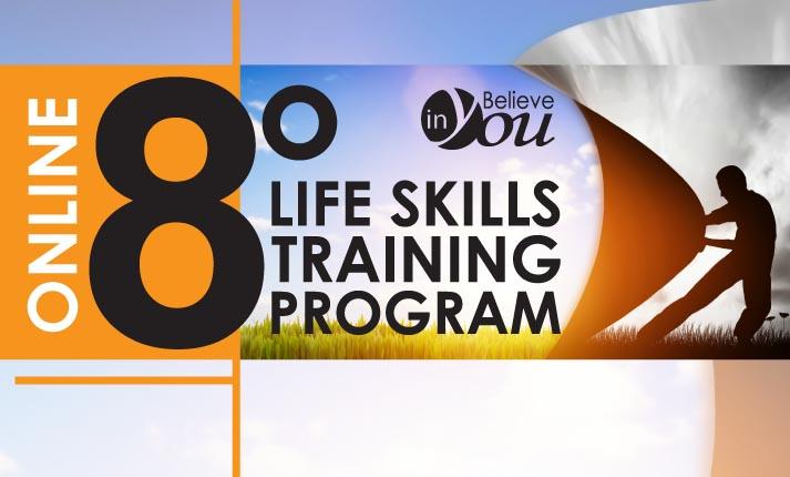 Ξεκινάει το 8ο Life Skills Training του Believe in You το Σεπτέμβριο, τώρα σε online!
