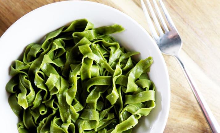 Λαζάνια πράσινα με ροκφόρ