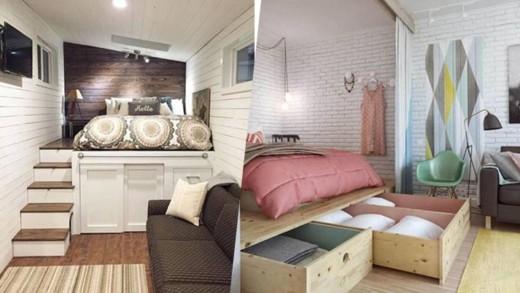 Μεγάλες ιδέες για μικρά υπνοδωμάτια