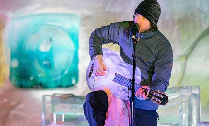 Μουσικά όργανα… φτιαγμένα από πάγο