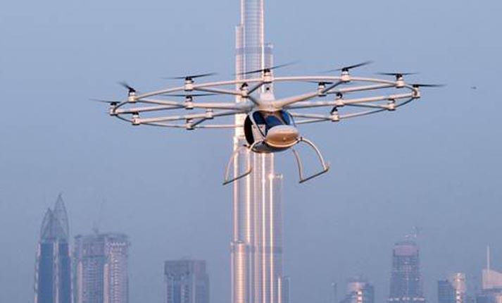 Ντουμπάι: Κυκλοφόρησαν τα πρώτα ιπτάμενα ταξί χωρίς οδηγό!