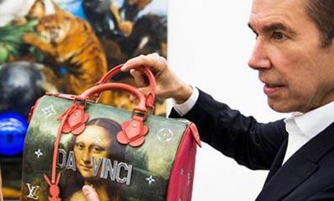 Ο Γαλλικός οίκος Louis Vuitton συνεργάζεται με τον ταλαντούχο εικαστικό Jeff Koons