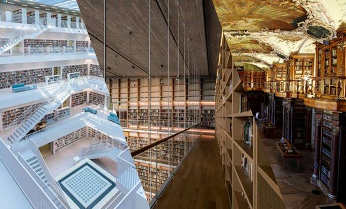 Ωδή στις βιβλιοθήκες του κόσμου